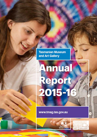 TMAG Annual Report 2015-16 Cover