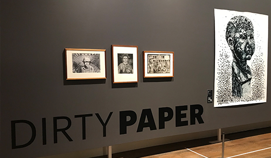 Dirty Paper exhibition