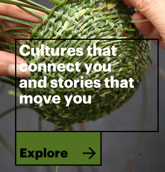 Cultures that connect you and stories that move you