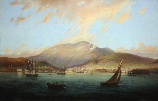 Hobart Town by Knut Bull