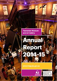 TMAG Annual Report 2015-15 Cover