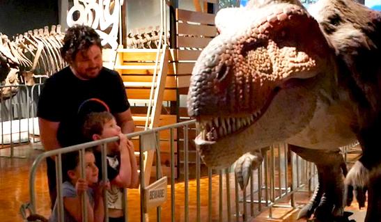 Dinosaur rEvolution opens