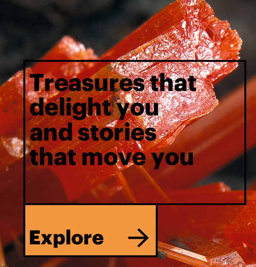 Treasures that delight you and stories that move you