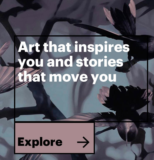 Art that inspires you and stories that move you