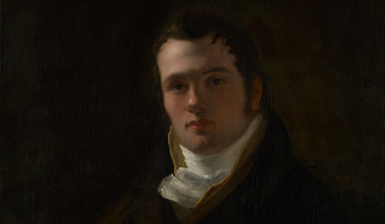 Portrait of Henry Foss, c 1820