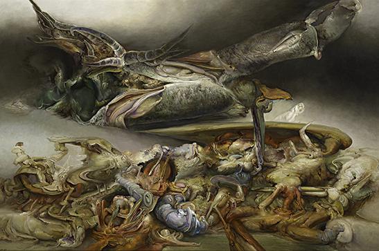 James Gleeson, Nest of premonitions, 1987