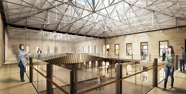 Tasmanian Museum And Art Gallery Raising The Roof