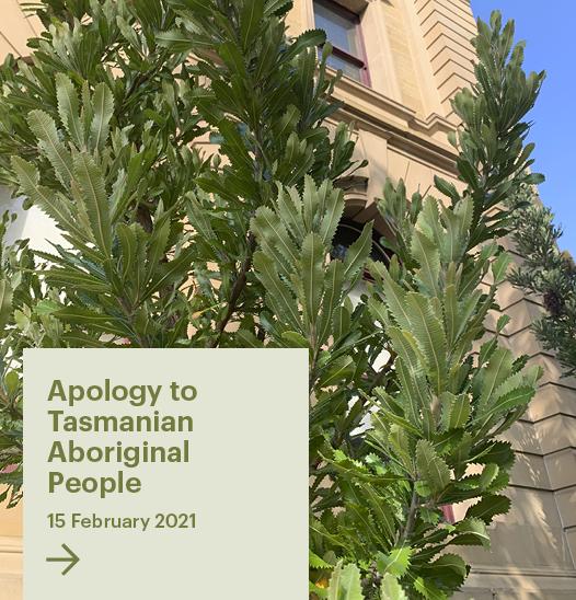 Apology to Tasmanian Aboriginal People